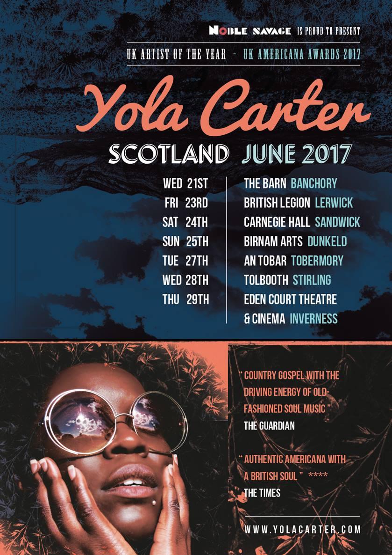 Upcoming Scotland Tour Dates