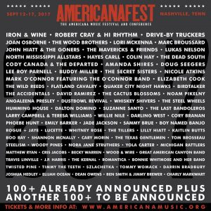 Amanda Shires, Iron & Wine and Drive-By Truckers to Perform AMERICANAFEST 2017