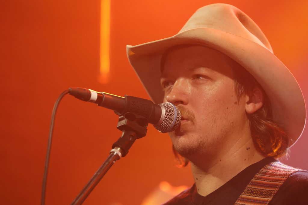 Mike Harmeier of Mike and the Moonpies performing at DittyTV